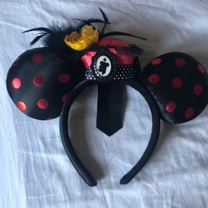 RARE Marry Poppins Minnie Mouse Ears Authentic